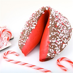 Flavored giant fortune cookies are our specialty and make unique edible gifts. Perfect for the holiday and corporate gift season.